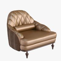 3d model chair hagal visionnaire