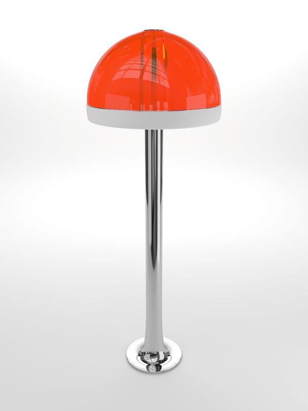 max pop art floor lamp
