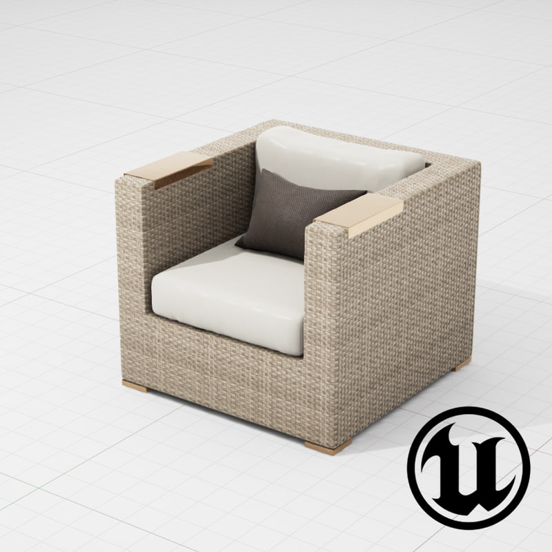 patio furniture ue4 x