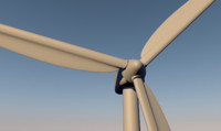 windmill wind c4d