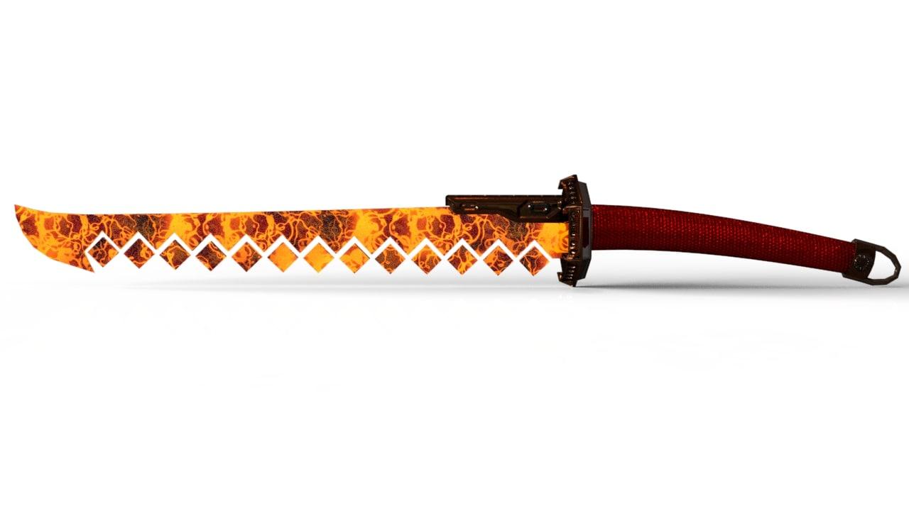 ready sword 3d ma