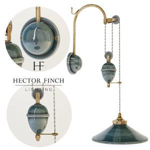 french ceramic wall light 3d model