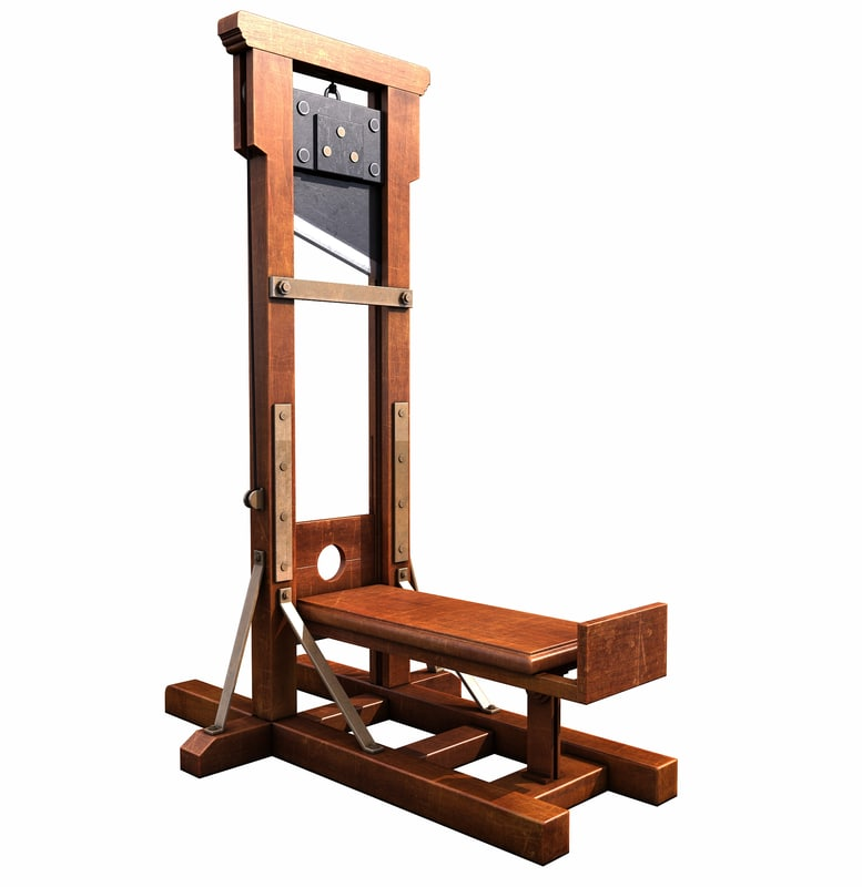 guillotine modelled max