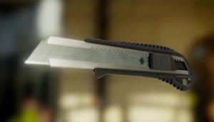 3d model box cutter