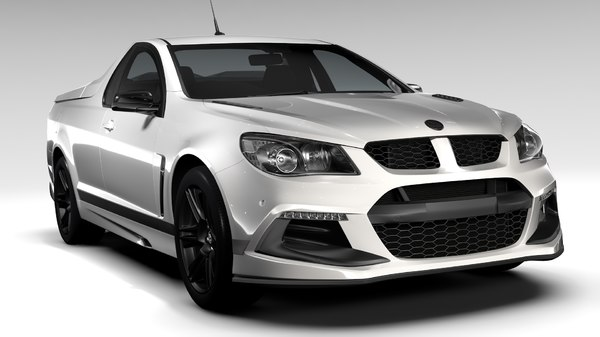 hsv maloo r8 sv 3d model