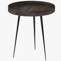 mater bowl table 3d model