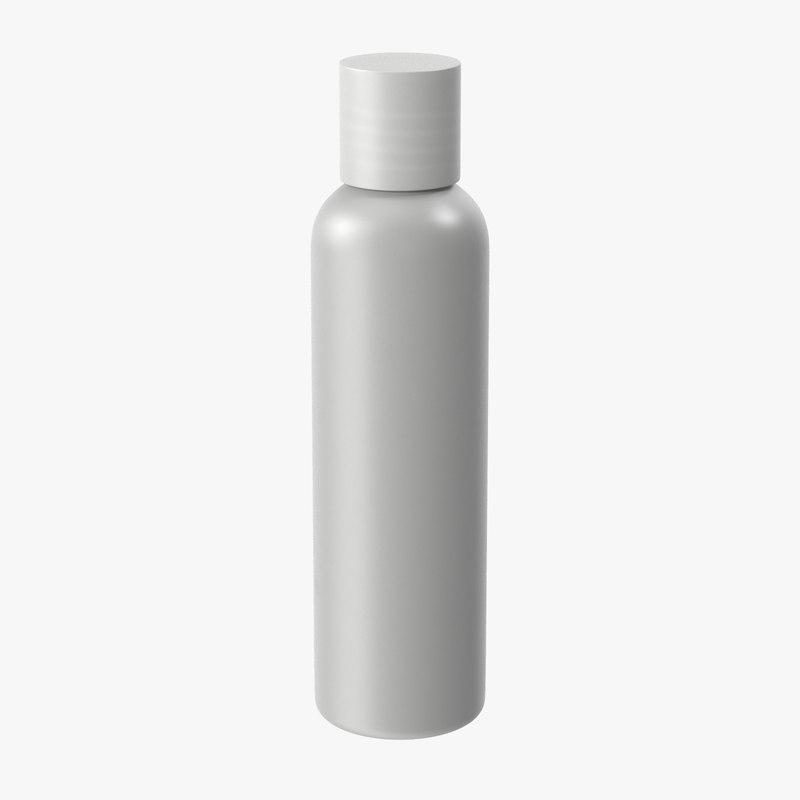 3d model cosmetic spray bottle