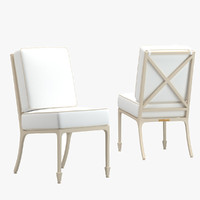mckinnon harris beaufort chair 3d max