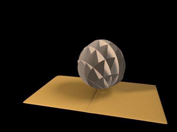 3d c4d pop origami