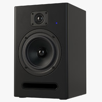 studio speaker 3d model
