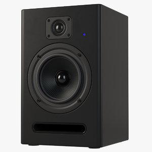 studio speaker 3d model