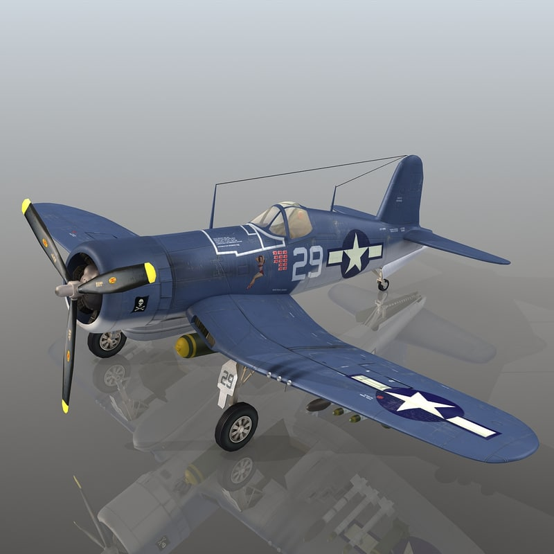 vought f4u corsair max