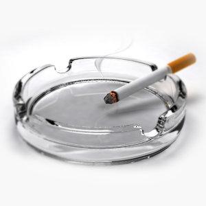 3d max ashtray cigarette