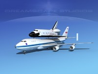 Space Shuttle Challenger Transport LP  1-2 747