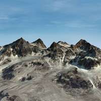 Terrain Snow Mountain 04