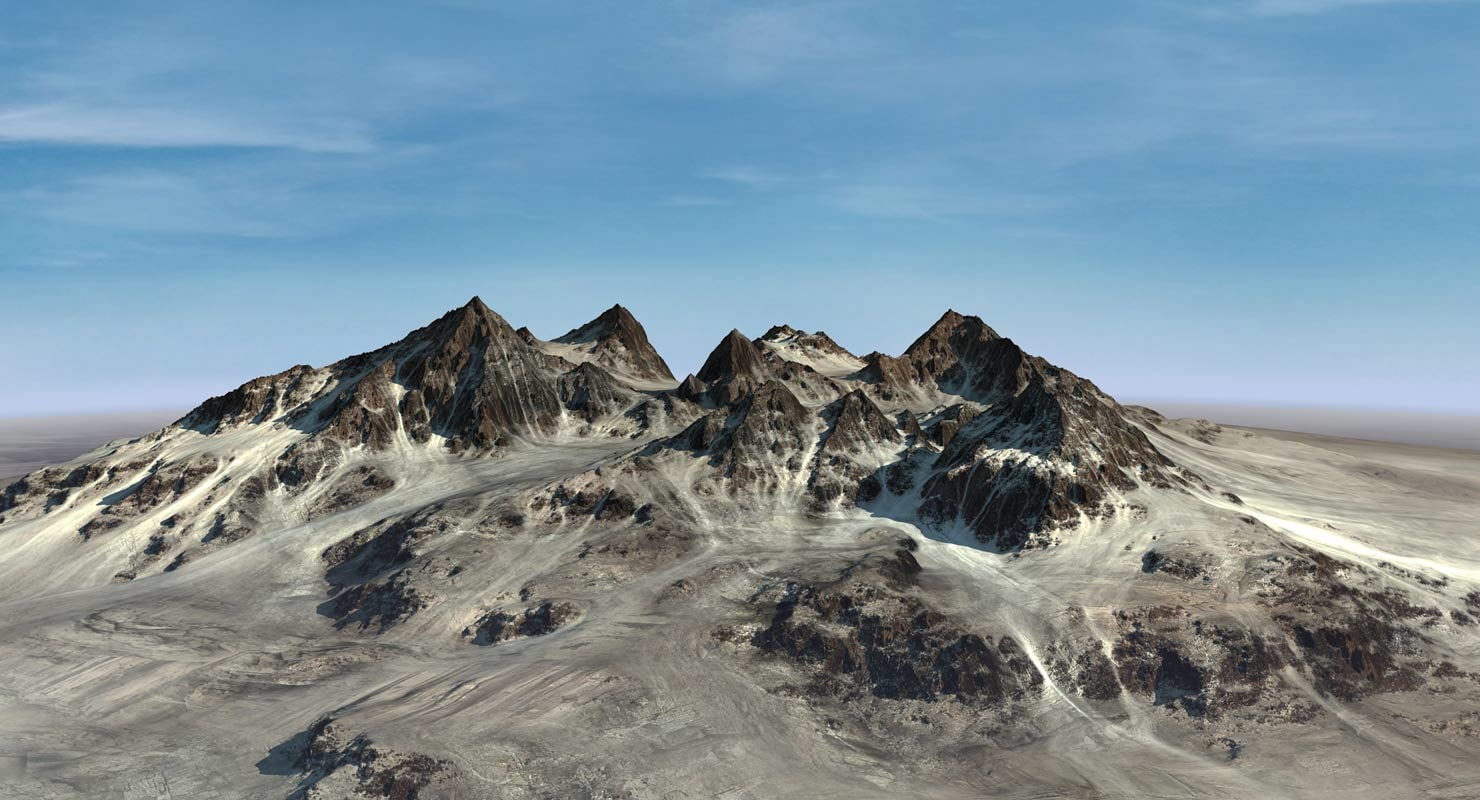 max mountains landscape terrain