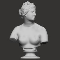classic statues carrara 3d model