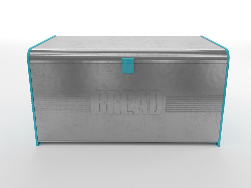 retro bread box max