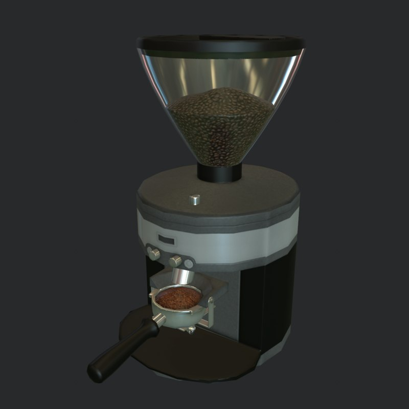 obj coffee grinder