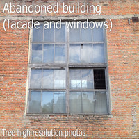 Abandoned building (facade and windows)