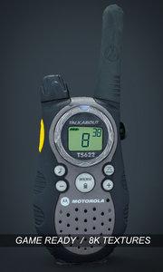 walkie talkie 3d max