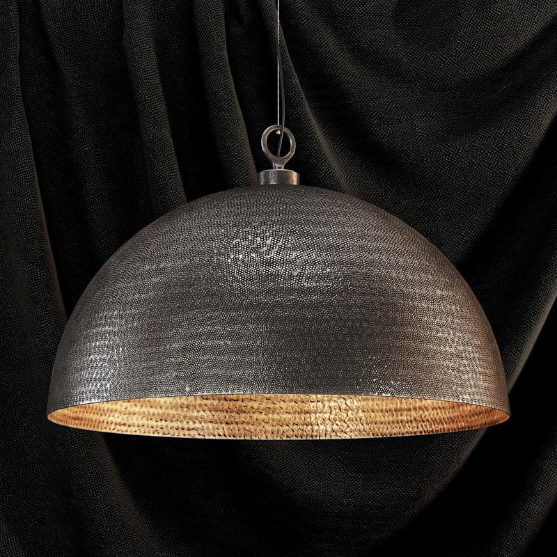 3d model of realistic pendant light