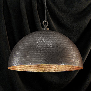 3d model of realistic pendant light