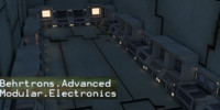 modular electronics pack rooms 3d 3ds