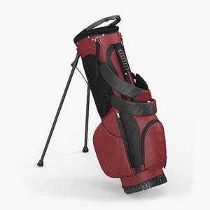 3d golf bag 2 model