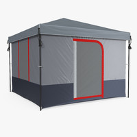 cabin camping tent 3ds
