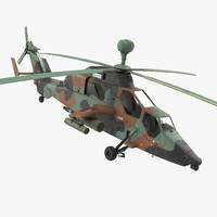 Eurocopter Tigre Spanish Army Rigged