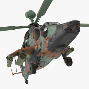 3d eurocopter tigre spanish army model