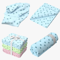 3d max baby blankets 02