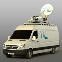 Mersedes Sprinter TV