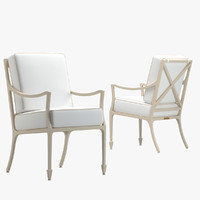 3d mckinnon harris beaufort chair model