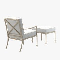 mckinnon harris beaufort lounge chair 3d obj