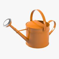 orange watering 3d max
