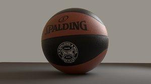 basket ball hd 3d fbx
