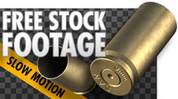 FREE Stock Video - Pistol Bullet Shell