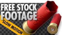 FREE Stock Video - Shotgun shell