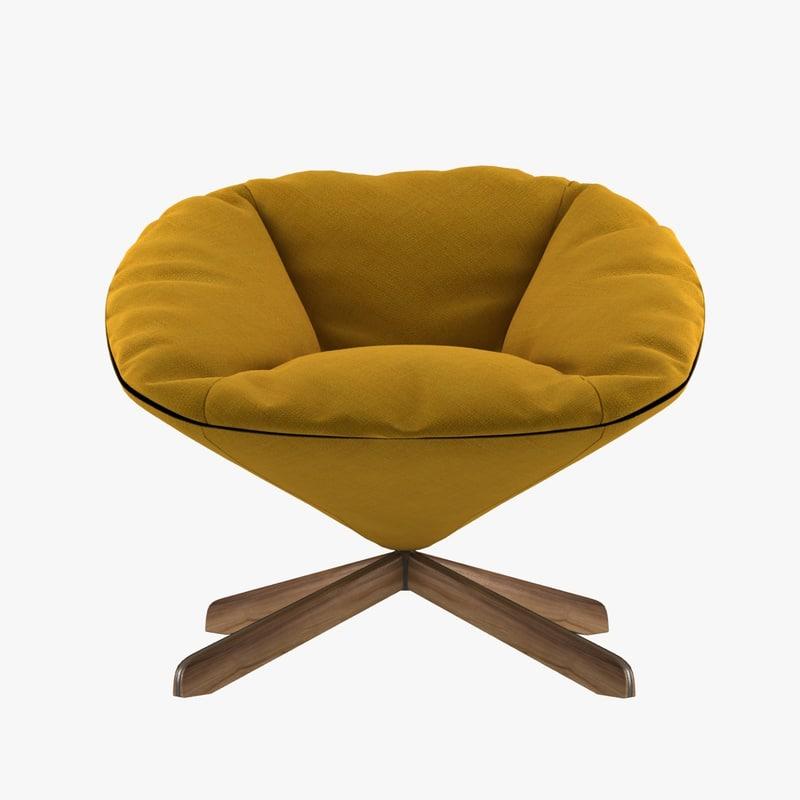 chair sancal tortuga easy 3d model