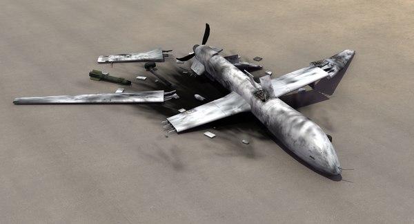 max mq-1 predator drone crash