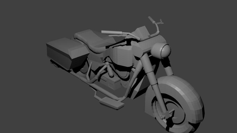 WW2 US Motorcycle