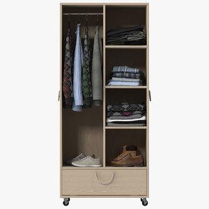 3d max wardrobe clothes 03
