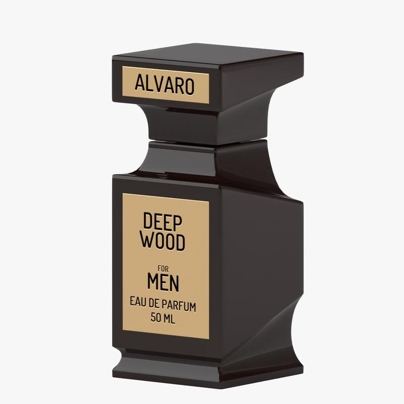 3d perfume 01 model