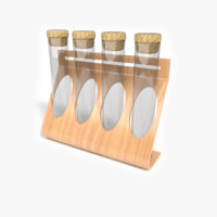 3d model stand spices