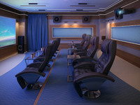 Home Theater Interior v1