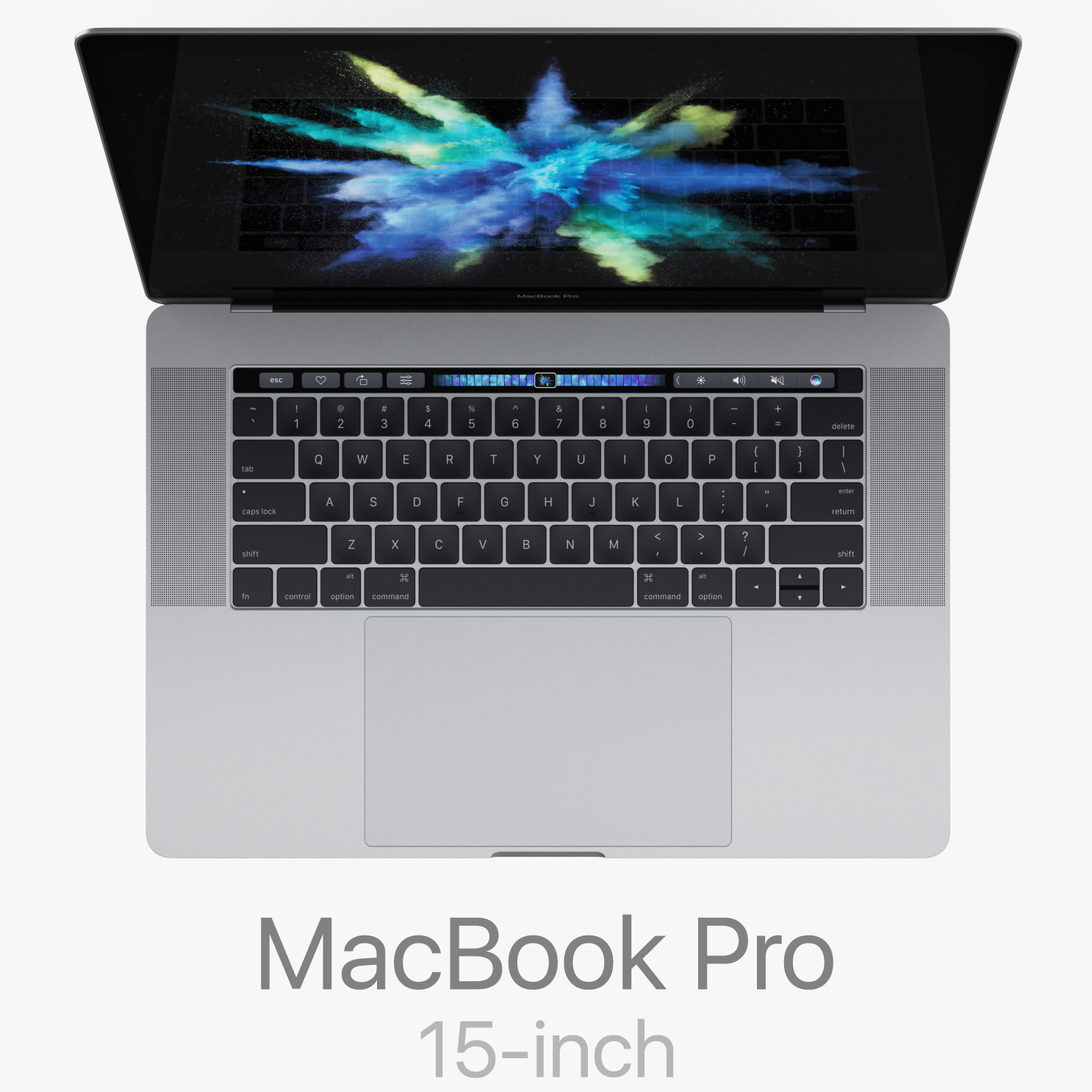 macbook pro 15-inch touch 3d model