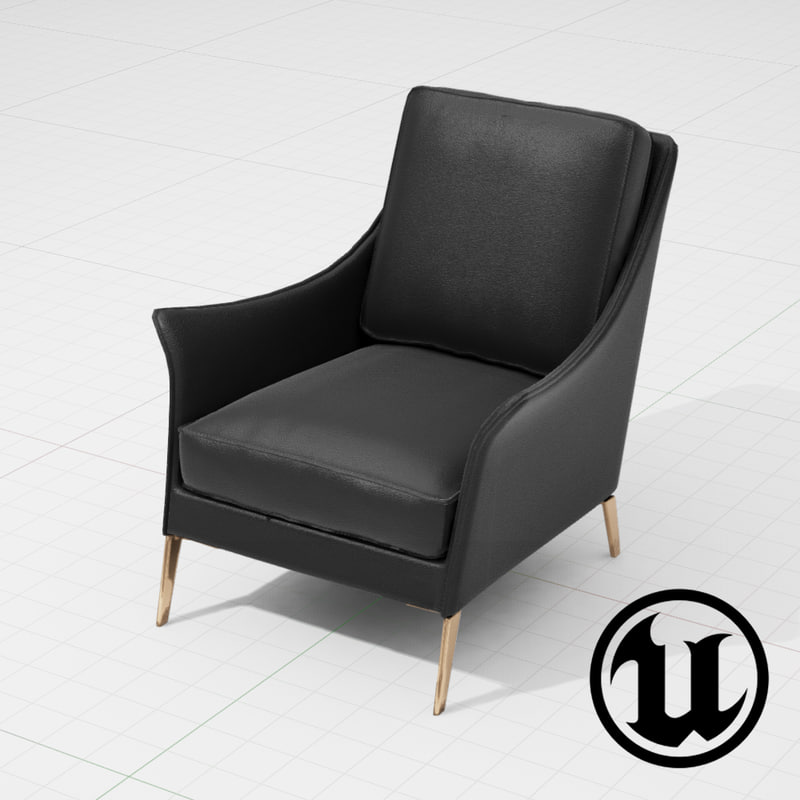 flexform boss chair ue4 x
