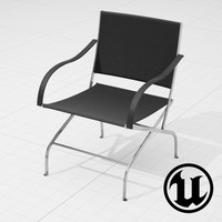flexform carlotta chair ue4 x